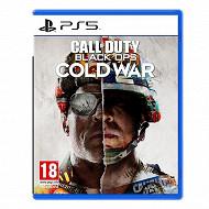 Jeu ps5 call of duty black ops cold war