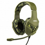 Casque Konix PS-400 camouflage PS4