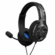 Casque filaire LVL40 stéreo headset camouflage noir ps4