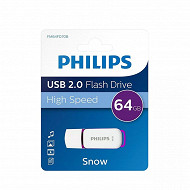Philips Clé USB 64 GB snow violet FM64FD70B-00
