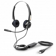 Urban Factory Micro casque usb filaire HBV01UF