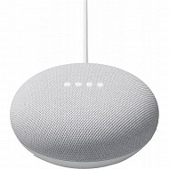 Google Assistant vocal nest mini gris clair GOOGLENESTMINIG