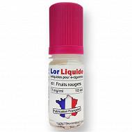 Lorliquide Fruit rouge 11 mg