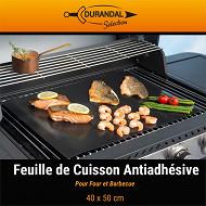 Feuille de cuisson barbecue antiadhésive 40 x 50 cm