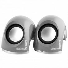 Urban factory Enceinte crazy speaker gris MSP05UF