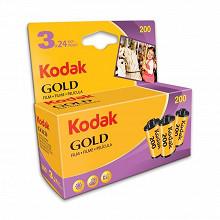 Kodak blister de 3 pellicules gold 200 iso 24 poses 6033971