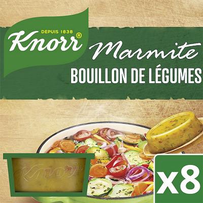 Knorr Knorr marmitte de bouillon légumes 8 capsules 224g