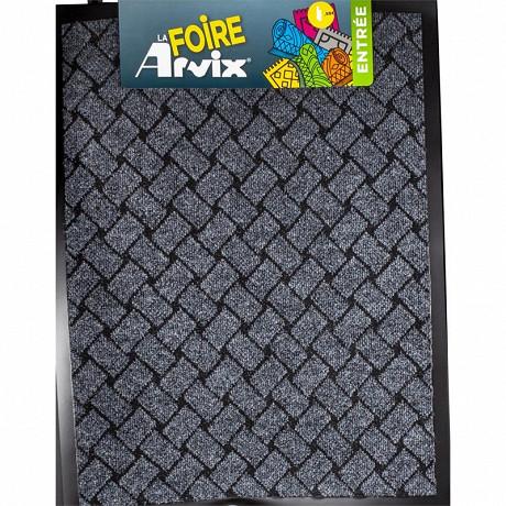 Avix tapis aiguillete velours bicolore 60x80cm