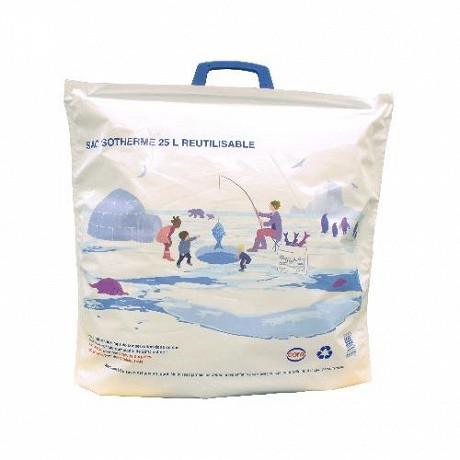 Cora sac isotherme réutilisable 25l