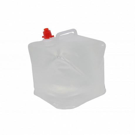 Récipient à eau pliable, 10 litre avec poignée et bouchon