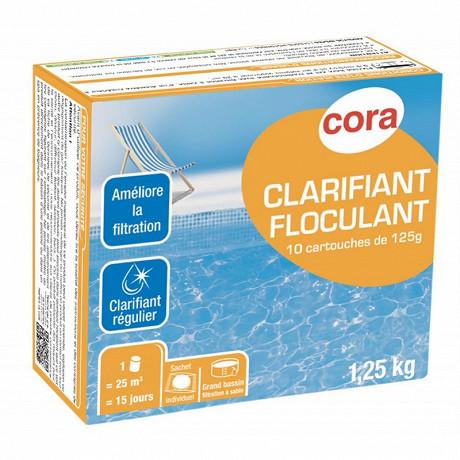 Clarifiant floculant 10 cartouches de 125g