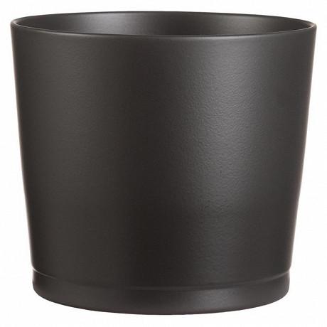 Cache-pot 883 antracite 22 cm