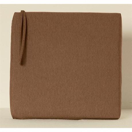Anjosa galette carrée 38x38 epaisseur 5 cm taupe dm