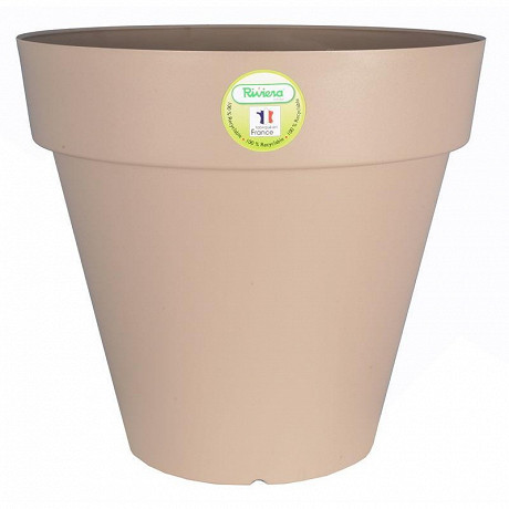 Bac soleilla rond 20cm  taupe