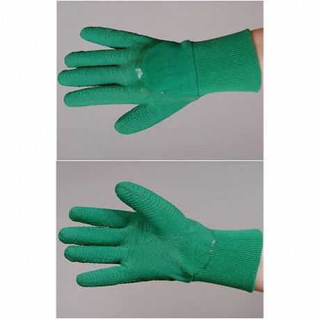 Gants rosier latex naturel sur support coton taille 09