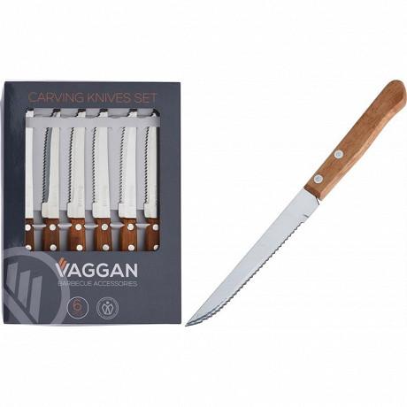 Lot de 6 couteaux à steak