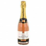Charles d'Harleville champagne brut rosé 12.5% vol 37.5cl