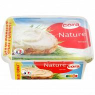 Cora fromage nature à tartiner nature 300g maxi format