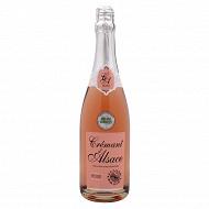 L'âme du terroir crémant d'Alsace rosé 75cl 12% Vol.