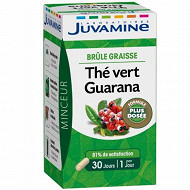 Juvamine brûle graisse gélule thé vert guarana 10g