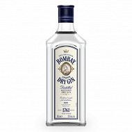Bombay dry gin original 70cl 37.5%vol