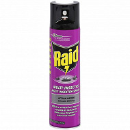 Raid aerosol multi insectes 400ml