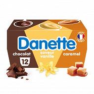 Danette panaché 12x115g