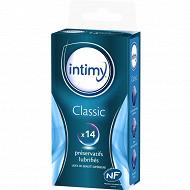 Intimy Préservatifs classic lubrifiés x14