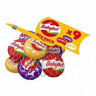 Mini babybel mixed filet x9 - original - cheddar - emmental 180g