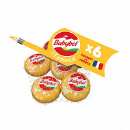 Mini babybel à l'emmental x6 120 g