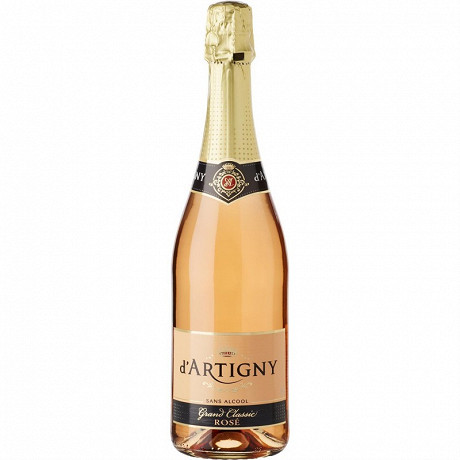 D'artigny grand classic rosé 75cl 0% Vol.