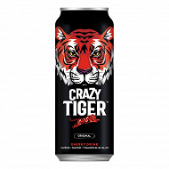 Crazy tiger energy 500ml canette