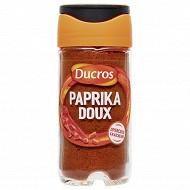 Ducros paprika doux flacon verre 40g