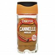 Ducros cannelle moulue flacon verre 39g