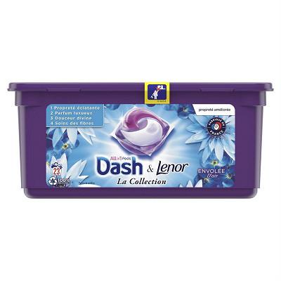 Dash Dash pods+ detergent envolee d'air 23ct