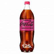 Coca cola zero framboise pet 1.25l