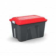 Sundis malle de rangement 60L locker - noire/rouge