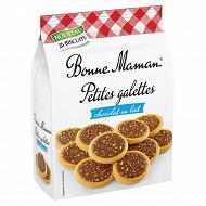 Bonne maman petites galettes chocolat au lait 250g