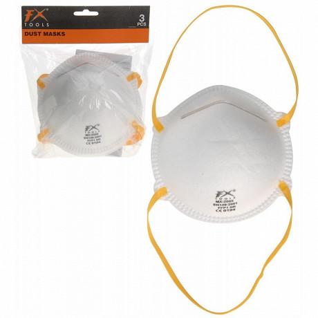Lot de 3 masques anti poussière