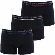 Lot de 3 boxers ligne Trio Business Eminence 2010 NOIR/NOIR/NOIR T8