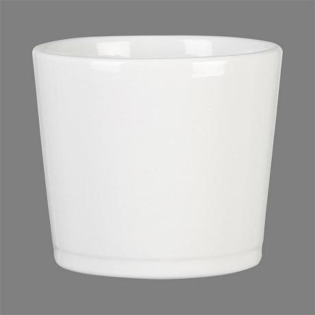Deroma cache-pot 883 alaska brillant 13cm