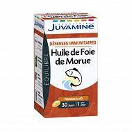 Juvamine phyto huile de foie de morue 30 caps 21g