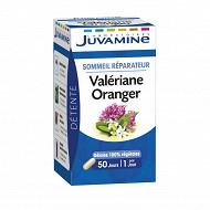 Juvamine phyto valériane-oranger, sommeil réparateur, 50 gél 16g