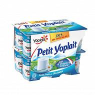 Petit Yoplait fromage frais nature au lait 1/2 écrémé 3.8 % mg 12 x60 g