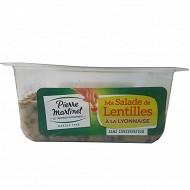 Pierre Martinet salade de lentilles à la Lyonnaise 300g