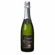L'âme du terroir AOC crémant de Bourgogne blanc brut 75 cl 12% Vol.