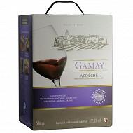 L'âme du terroir igp Ardèche Gamay rouge 5 litres 12.5% Vol.