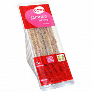 Cora club jambon beurre 125g
