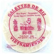 Lion brand  galette de riz vietnamienne 22cm 400g