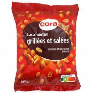 Cora cacahuètes grillées et salées 450g